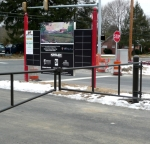 Gates with super durable polyester.