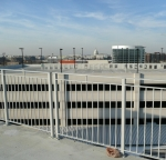 Fence at Nationals Ballpark with TGIC coating.
