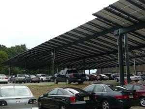 Solar Carport with TGIC Powder Coating